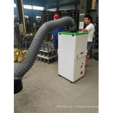 Extracteur mobile de vapeur de soudure