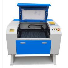 Fábrica de suministro de CO2 tubo de vidrio mini máquina de grabado láser (GS5030) con alta velocidad de corte
