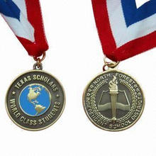 Souvenir Medal/Medallion, Made of Alloy, Suitable for Award and Promotional Gift Purposes