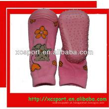 Calçados Meias Não-Skid para meninas