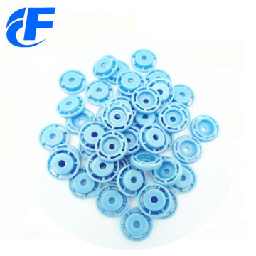 Fashion designer plastic press ring snap button