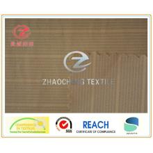 400T Tissu semi-élastique de Pongee H-Line (ZCGF086)