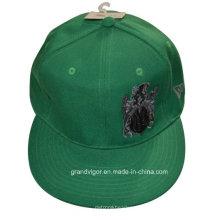 Gewebte Baumwoll-Twill-Hysteresen-Kappe mit kleiner Menge akzeptiert