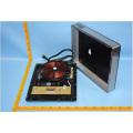 Contrôle de contact de capteur de brûleur simple de l'acier inoxydable 2600W 1800W, cuiseur d'induction de 120V ETL
