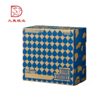 Top quality wholesale Chinese custom logo fashion gift color carton box