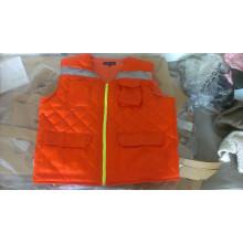 мужская куртка bodywarmer жиле работу носить оранжевый