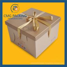 Kraft High Quality Packing Cake Box (CMG-cake box-001)