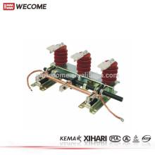 KEMA bescheinigte elektrische Erdungsschalter der Hochspannungsschaltanlage-24KV 1250A