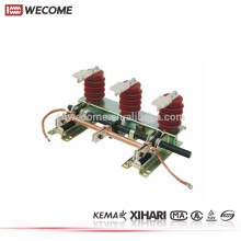 Commutateur de mise à la terre électrique de l'appareillage 24KV 1250A de haute tension témoigné par KEMA