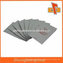 Plastic Matt Varnish Cosméticos de aluminio Facial Mask Packaging Bag China fabricante