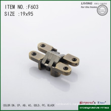 Cross concealed hinge hydraulic soft close hinge F603