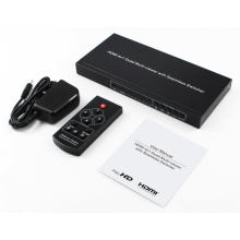 4 Input HDMI Quad Multi-viewer and Switcher