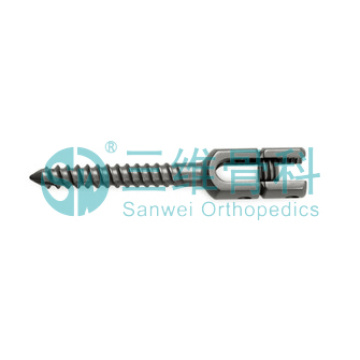Patah Jenis Cardan Pedical Screw Titanium