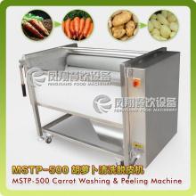 Lavadora de papas, peladora, lavadora de remolacha, pelador Mstp-500