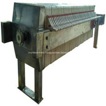 High Quality Cast Iron Filter Press With PLC