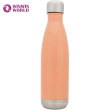 Оптовая изготовленный на заказ Логосом OEM изоляцией из нержавеющей стали 18 8 металлическая бутылка для воды