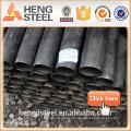 Tianjin negro MS Pipe acero