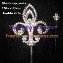 18 polegadas Crystal Pageant Scepter