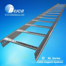 Escada de cabo marinho de aço galvanizado por imersão a quente
