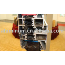 Profilés en aluminium isolés thermiquement