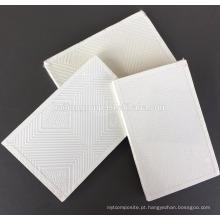 Especificação do teto falso da placa de gipsita