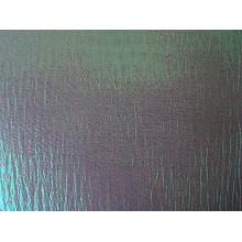 Tissu en organza doré métallique