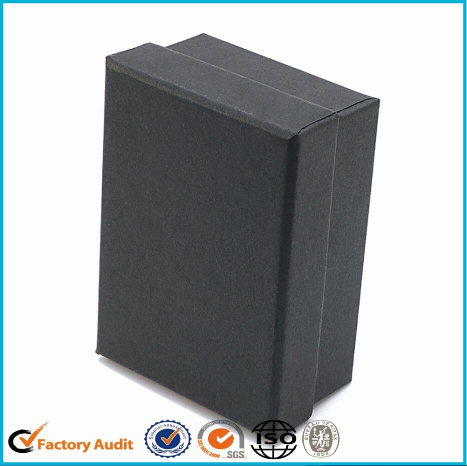 Elegant Cufflink Black Cardboard Display Box