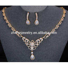 2018 trending products african beads jewelry set latest design beads necklace