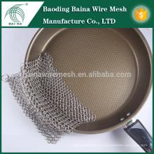 Baina Ring Wire Mesh Кухонный скруббер из нержавеющей стали 316