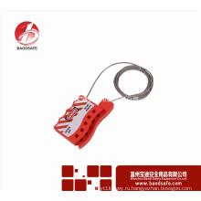Wenzhou BAODSAFE BDS-L8641 Безопасность Универсальная регулируемая блокировка кабеля