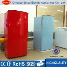 170L direkte Kühlung inländische rote farbige Kühlschränke
