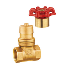 Brass Magnetic Lockable Gate Valve, Full Port, NSF UPC