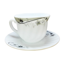 White Jade Porcelain Coffee Cup