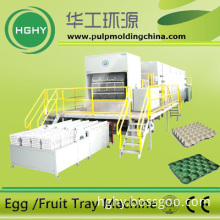 used waste paper pulp egg tray machine