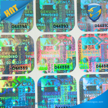 Cheap Custom 3D Hologram Sticker,Printed Security Holographic Sticker