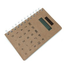 Spiral Notebook with Calculator,Back to School Notebook