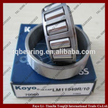 rodamientos de rodillos cónicos KOYO de una hilera 32005jr 57551 lm102949 / 10 lm67048 m12649 / 10 l44649r / 10 lista de precios