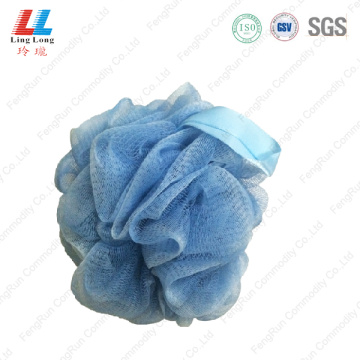 Mixture color mesh bath ball