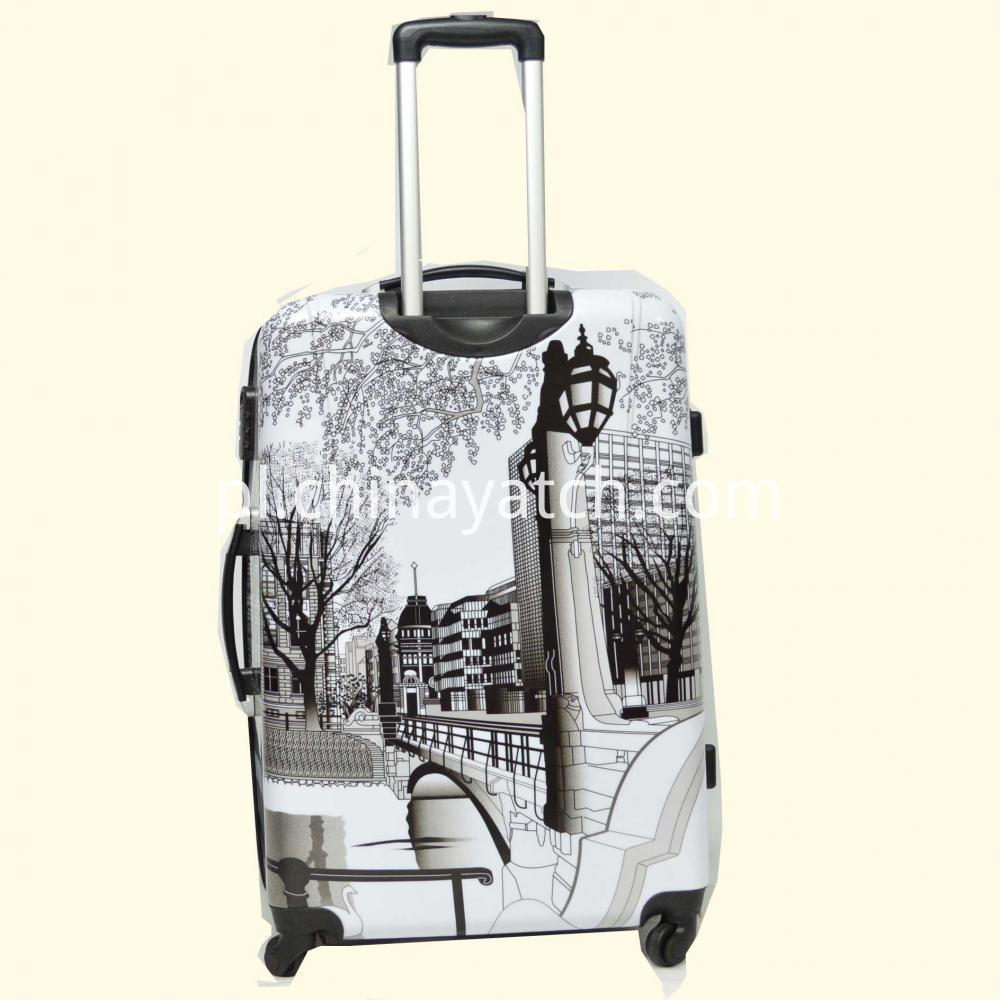Metal Logo Luggage Set