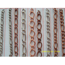 china supplier wholesale cheap iron material metal chain for keychain