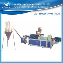 Linha de produção de pelotização de PVC com corte a quente e engenheiros disponíveis no exterior