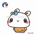 2018 Hot Sale High Quality Color-fast Eco-friendly Non-toxic Temporary Kawaii Sticker