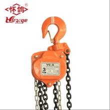 chain fall hoist 10 ton chain puller block