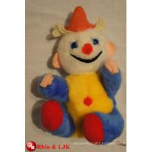 ICTI Audited Factory clown plush stuffed toy