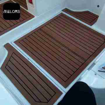 EVA Faux Teak Sheet Boat Flooring
