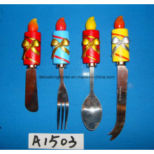 Spreader with Resin Handle for Christmas Decoration
