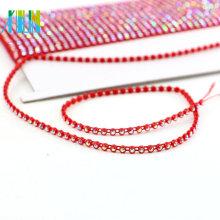 GBA002 Bande de strass pour la garniture strass de chaîne de perles