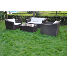 RH style patio furniture wicker sofa set