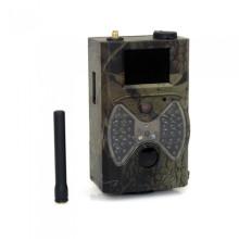 Câmera Scouting móvel da caça de 12mp 1080p GPRS MMS com flash preto
