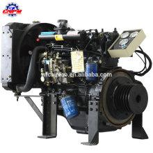 Motor diesel de 4 cilindros para motor diesel marino estabilizado de rendimiento 495CD
